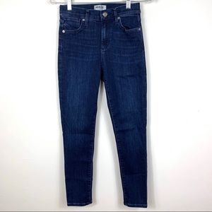 AGOLDE Sophie High Rise Skinny Crop Jeans size 25